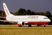 Air Berlin 737 vor dem Start